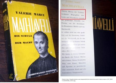 MARCU, Valeriu - Machiavelli Alemán